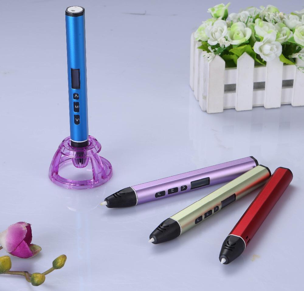 Stylo 3d stylos 3d mod/èle 3d stylo 3d filament 1.75mm ABS//PLA cadeau du nouvel an No/ël pr/ésente des cadeaux danniversaire papier 40 motifs stylo dimpression 3d cr/éatif