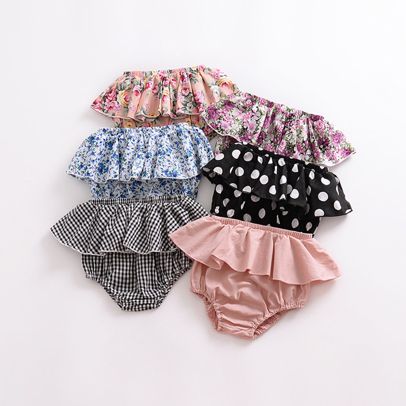 Baby Slip Unterwäsche Mädchen Kleidung Hose Tütü Spitze Rüschenhöschen Unterhose