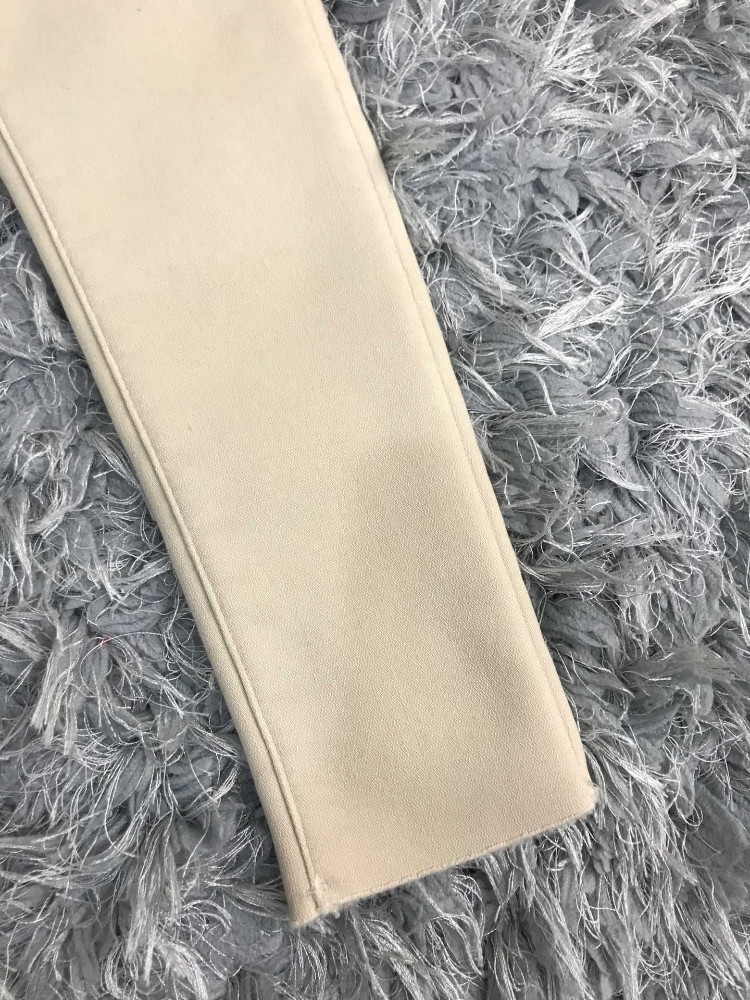 Giv casual pants high-end imported cotton material, inner plus velvet, super comfortable, large stretch, wild