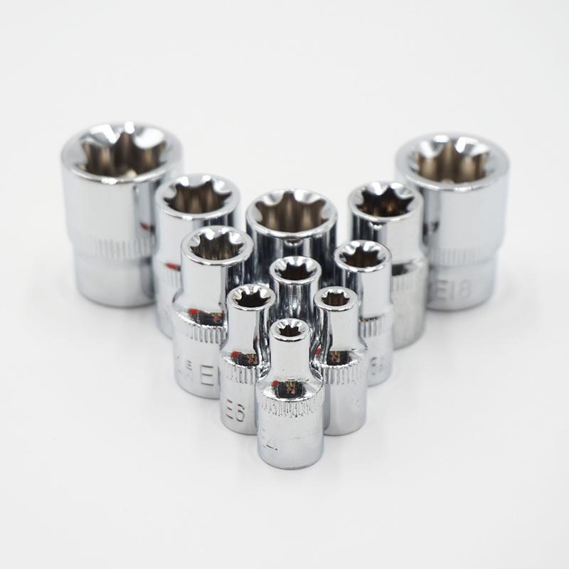 Llave Allen Métrico Macho hidráulico Cabeza De Zócalo Enchufe de supresión de acero 8mm a 22mm