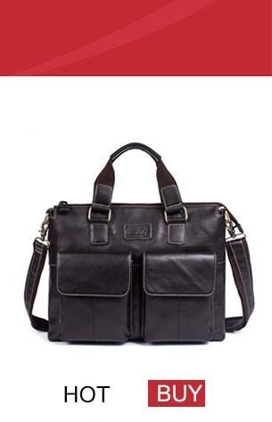 genuine leather bag men bag male (3)
