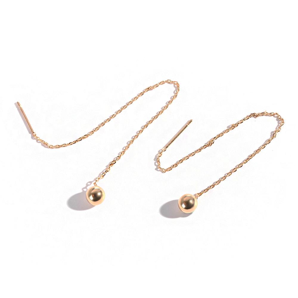 Tassel Threader Star Drop Earrings Long Chain Ear Line A Pair BWY