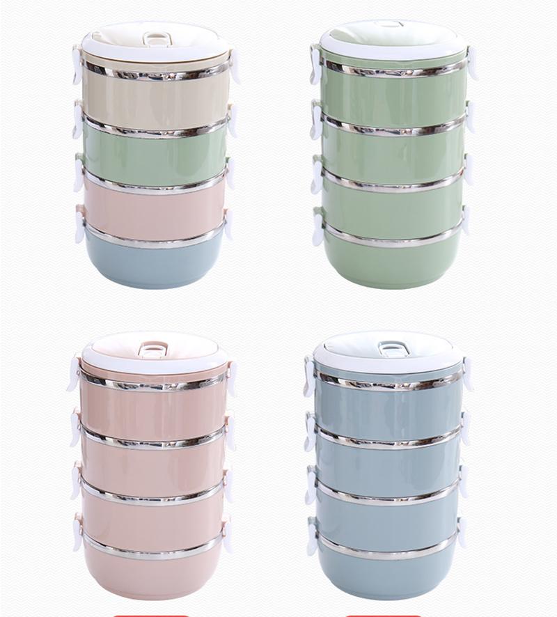 304 stainless steel Bento box 8