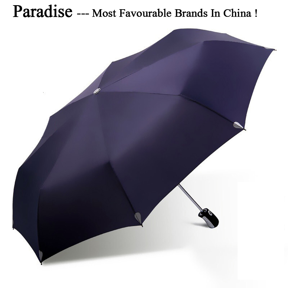 California Bear Automatic Tri-Fold Umbrella Parasol Sun Umbrella Sunshade