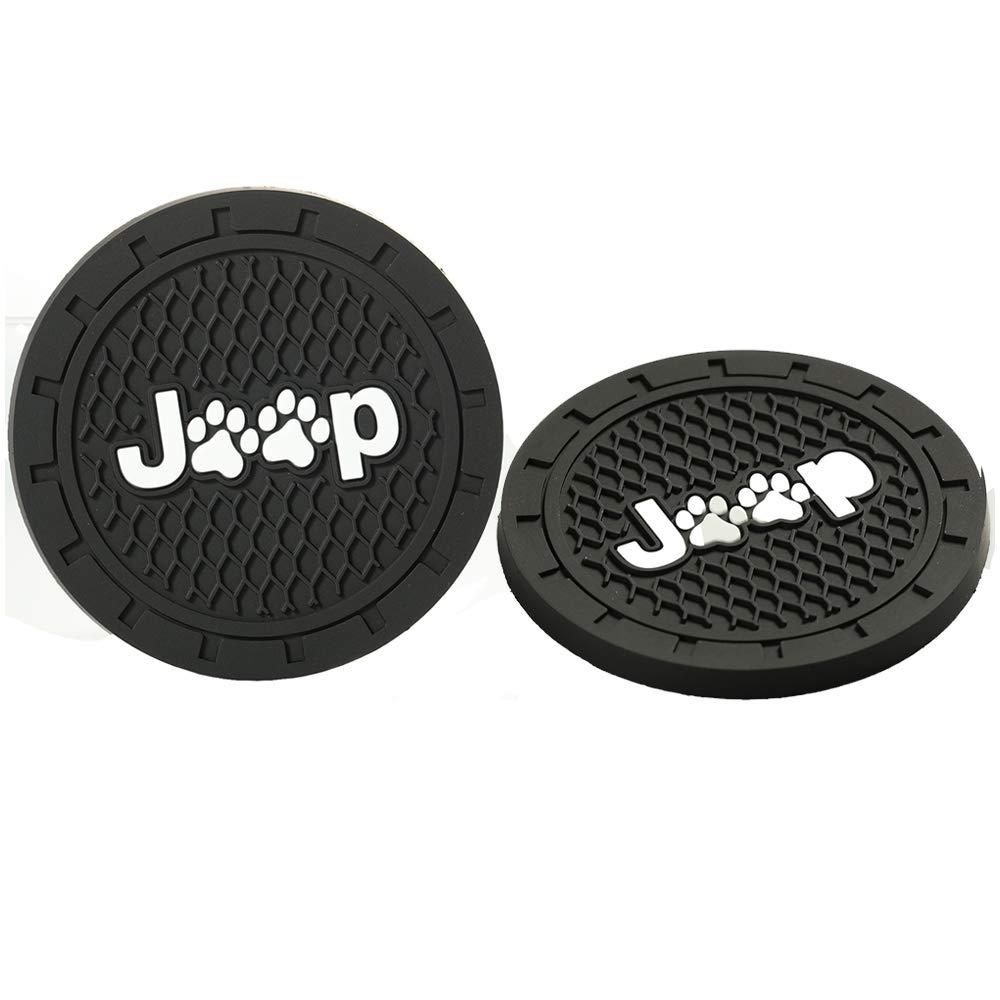 2.75/inch,2/Pcs/ Car/Interior/Accessories/Anti/Slip/Cup/Mat,Jeep/Patriot/Accessories,Jeep/Grand/Cherokee/Accessories,Jeep/Renegade/Accessories