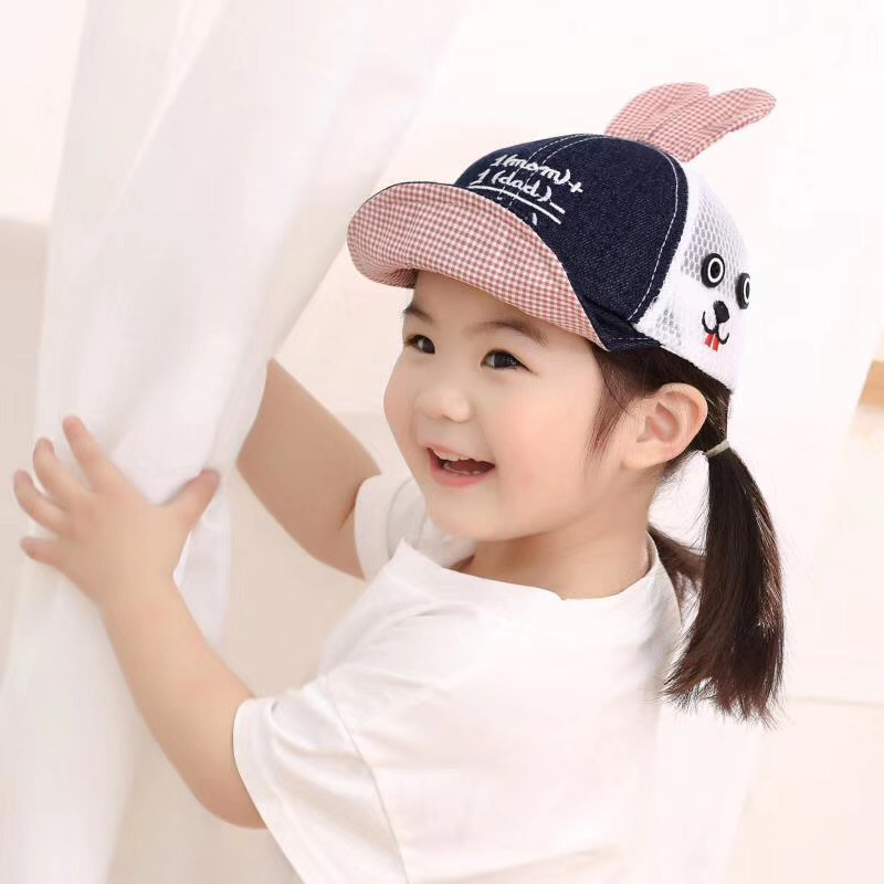 AB Unisex Infant Toddler Kid Baby Caps Girl Boy Sun Hats Cotton Baseball Cap UK