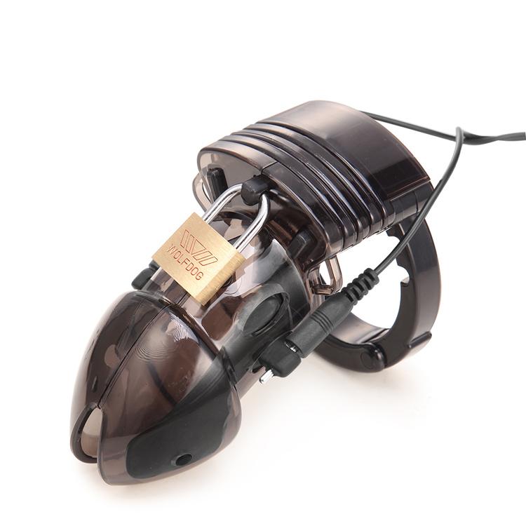 Устройство целомудрия Cock Cage For Man, Пульт Дистанционного Управления Electro Shock Кольцо Пениса Секс-Игрушки, Электрический Кольцо Петуха Кольцо целомудрия