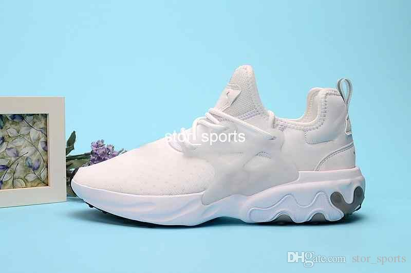 2019 Breathable React Presto mens running shoes Psychedelic Lava Dharma Witness Protection Rabid Panda Designer Sneakers Size 40-45