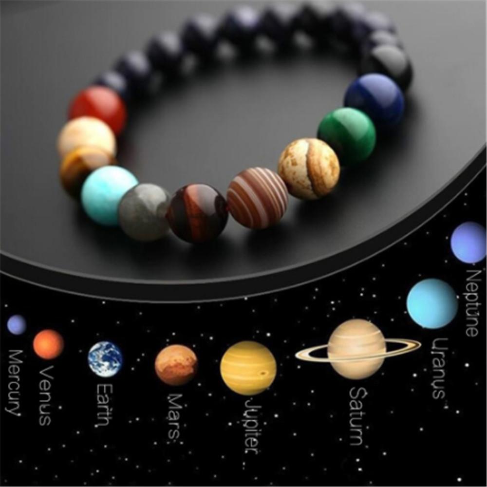 Planet Mercury Silver Plated Clip Charm bracelets phone purse space astronomy
