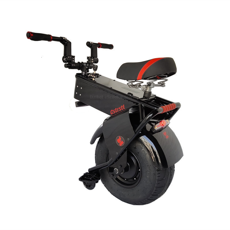 Adult Electric Motorcycle Scooter One Wheel Electric Scooters 18 Inch Fat Tires Portable Electric Unicycle One 1000W 60V 90KM (19)