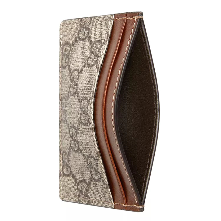 [19SS]GUCCI/Gucci GG Supreme canvas card holder small leather goods 233166 KLQH0 8526