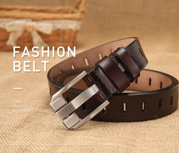OnIn Great New Fashion Man Belt Brand Leather Designer Belts Men Wide ceinture femme Red strap for lovers ceinture homme