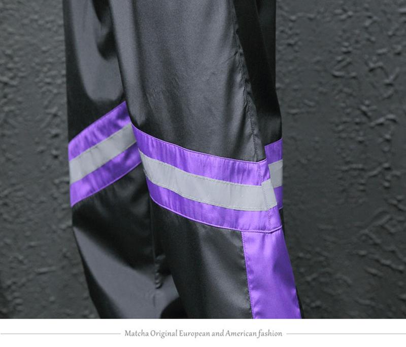 Loose Hip Hop Cargo Pants Men Camouflage Patchwork Harem Mens Trousers Streetwear (25)