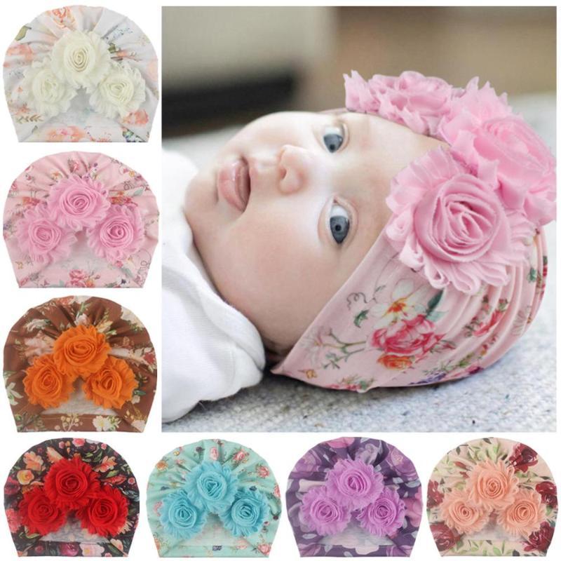 Coton Bébé Fille Chapeaux Bonnet 9-24 mois 2-4 an Bébé Chapeau Bonnet