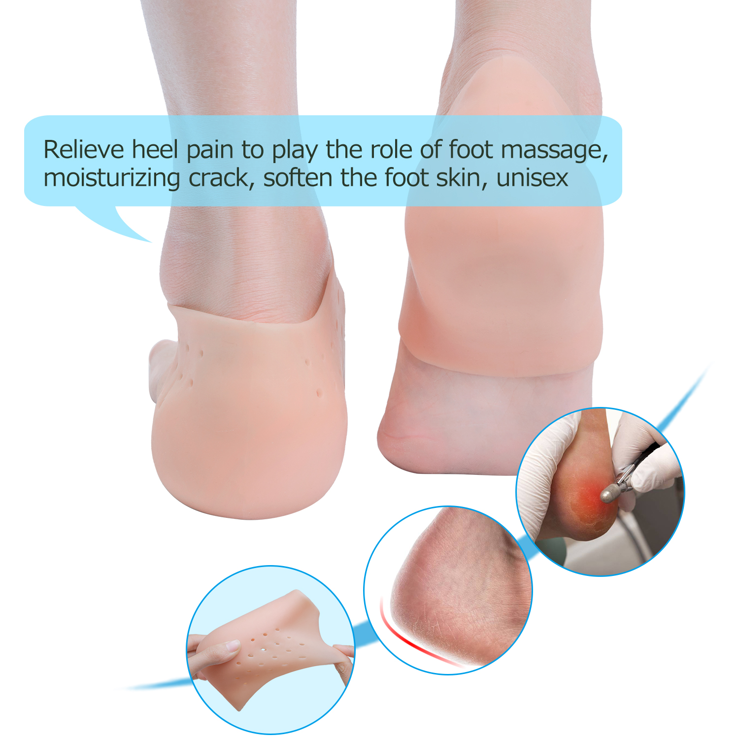Height Boosting Insoles Orthopedic Height Increase Insoles Massaging Invisible