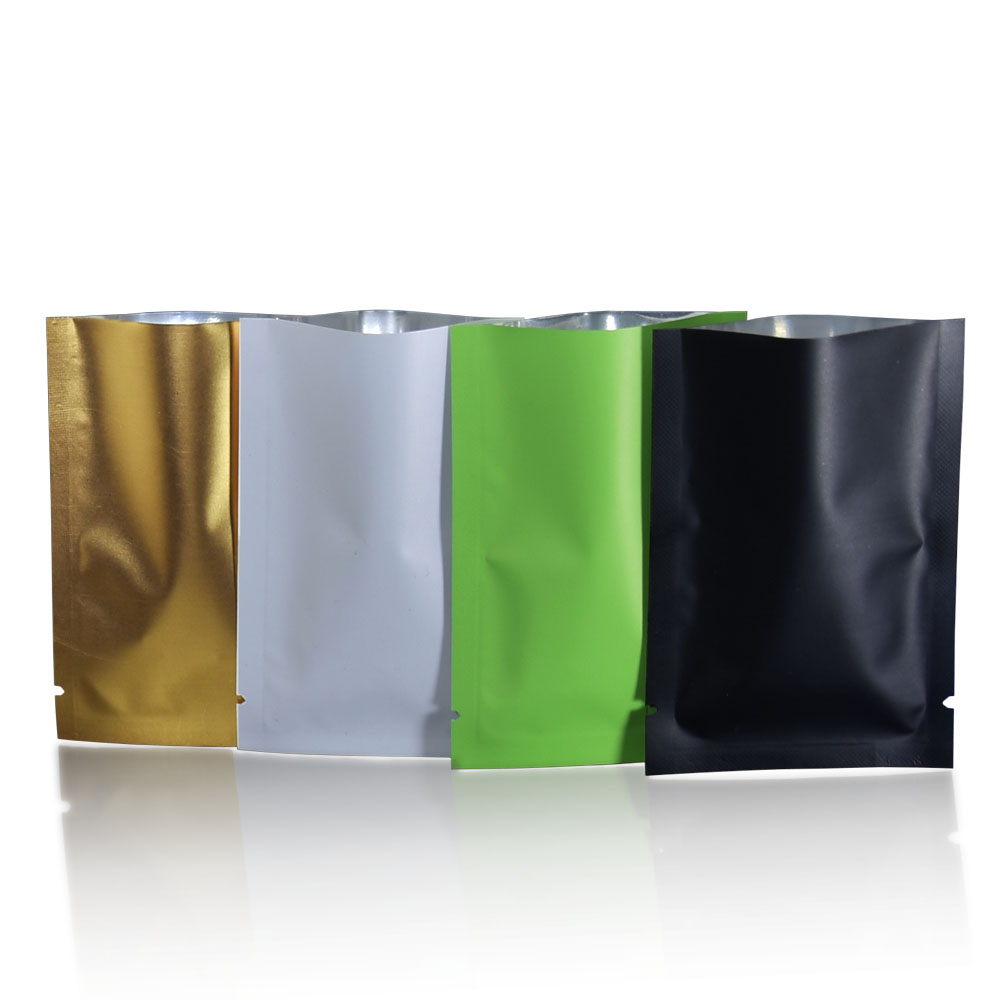 100PCS Jewelry Ziplock Zip Zipped Lock Reclosable Plastic Poly Clear Bags CA63