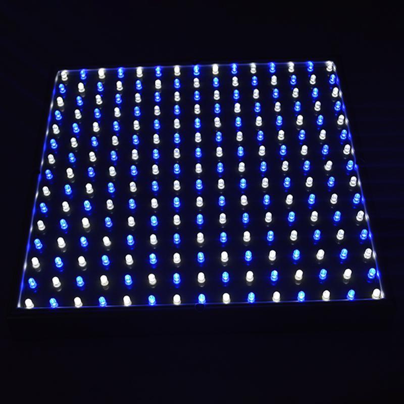 15 W ABD Plug Tam Spektrum Paneli LED Işık Büyümek AC85 ~ 265 V Sera Bahçe Bitkileri Kapalı Bitki Çiçeklenme Büyüme için Lamba Büyümek