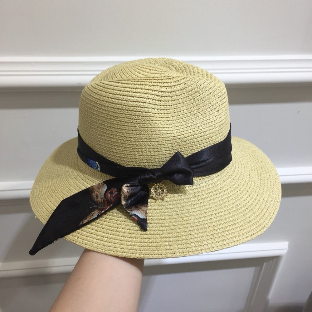 2019 spring and summer new new straw hat visor adjustable sizeor