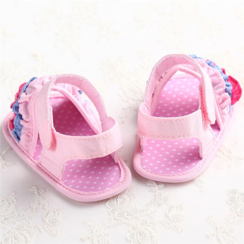 Summer Baby Girl Sandals Toddler Newborn Baby Girl Crib Flower Soft Sole Anti-slip Sneakers Canvas Sandals NDA84L25 (13)