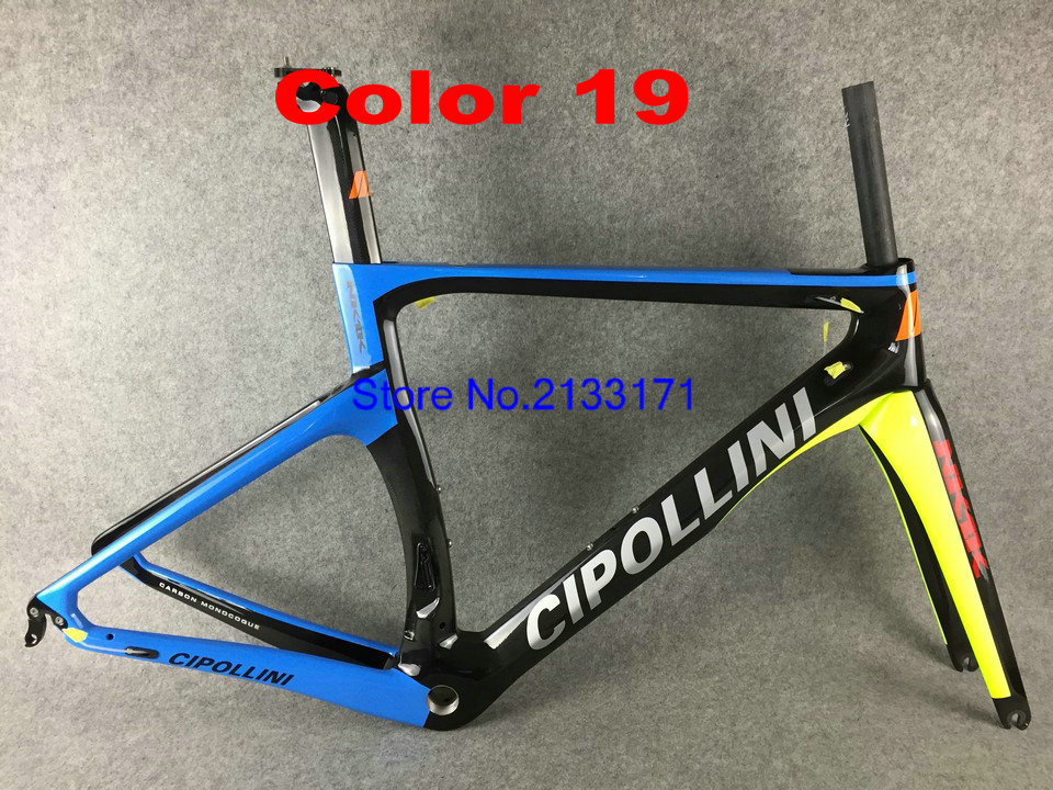 19 Cipollini NK1K 3K Di2 Carbon Bike Frame