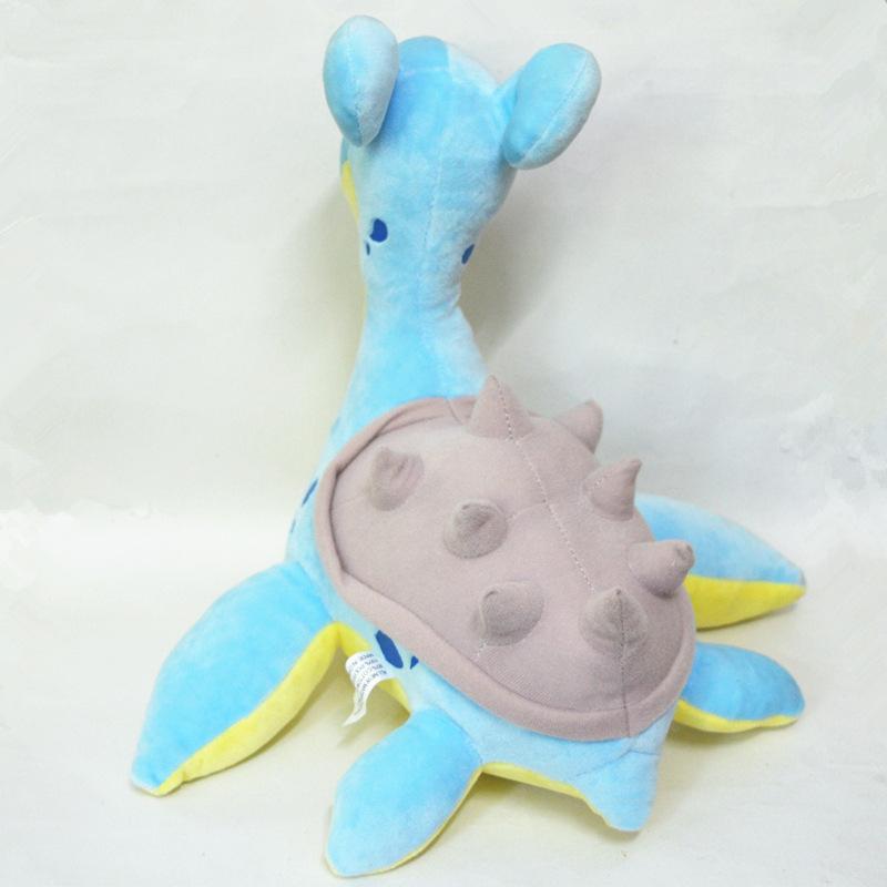 Lapras Plesiosaur plush toys cute Marine life Cartoon for kid birthday present pikachu kawaii Japan doll Y190530
