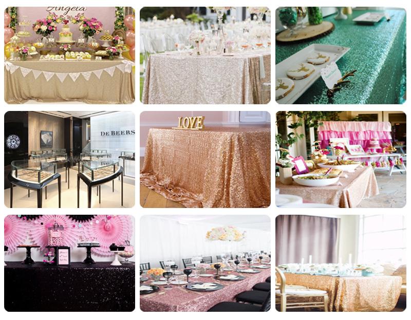 sequin tablecloth010