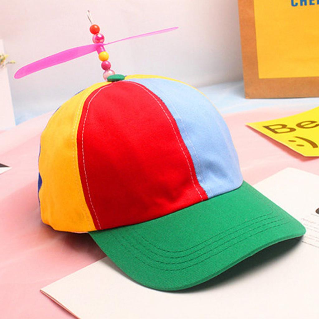 Dabbing Unicorn Child Baby Kid Mesh Caps Adjustable Trucker Hats Summer Snapback