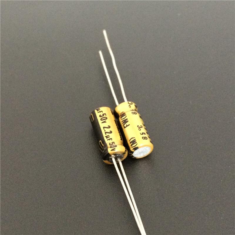 2 x 50V 4.7UF 4x5mm Standard SMD Super Low ESR Aluminum Solid Capacitor