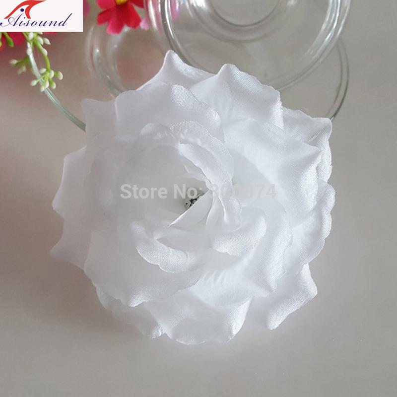 White rose arch flower decor