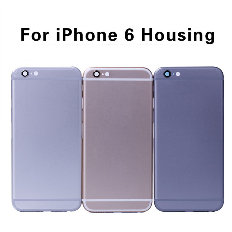 Replacement Cover For iPhone 6 plus 6s plus Housing Silver Gold Colors With Without DHL shipping