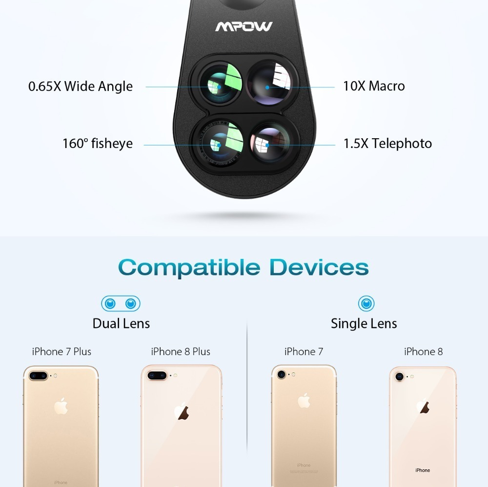 Mpow PA105 Phone Lens for iphone (1)