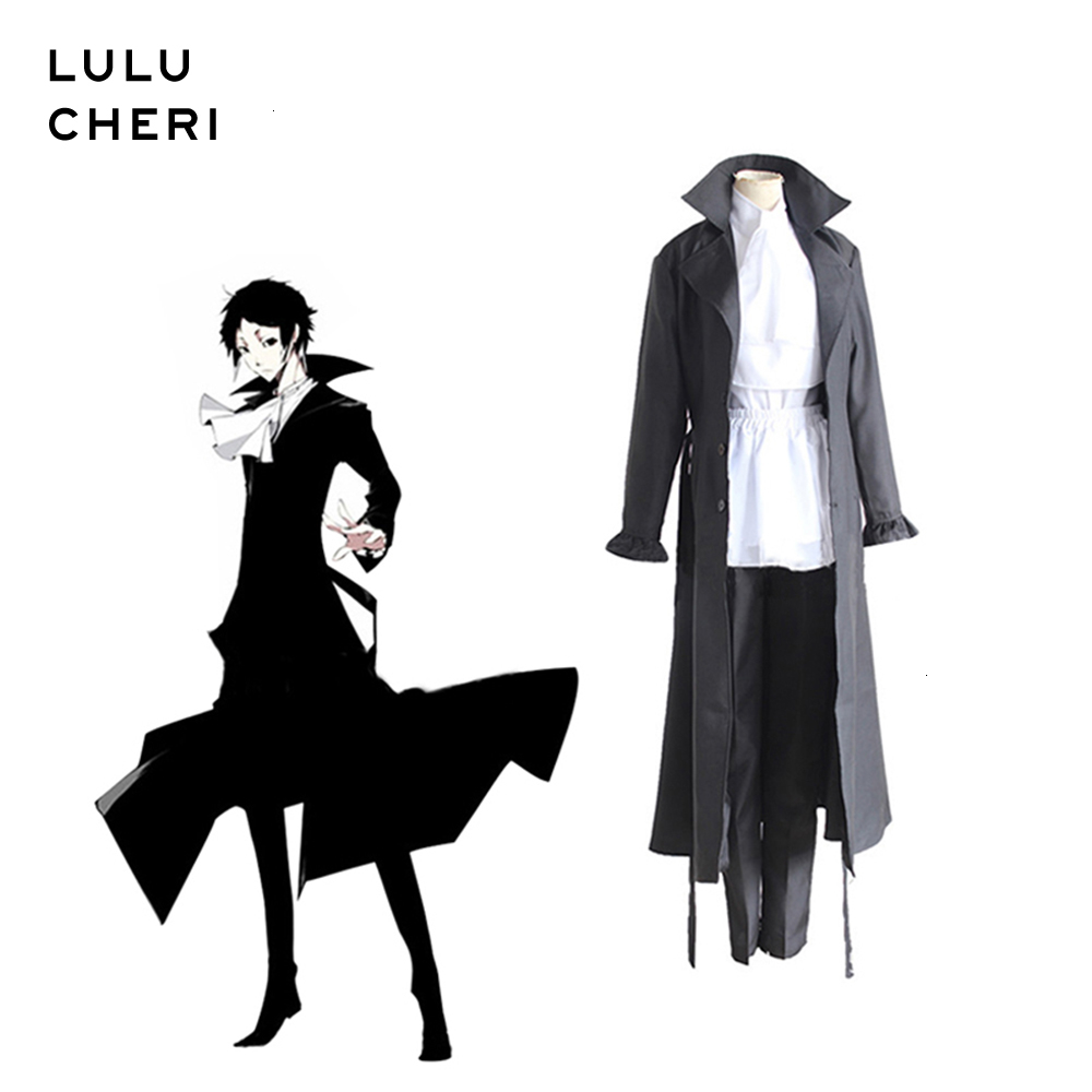 Bungou Bungo Stray Dogs Ryunosuke Akutagawa Cosplay Costume Outfit Suit Uniform