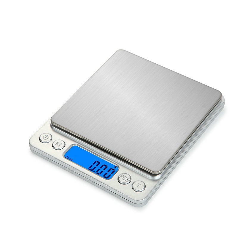 10kg 1g Portable LCD Electronic Scale Herb Food Home Kitchen Weighing Scale FG#1