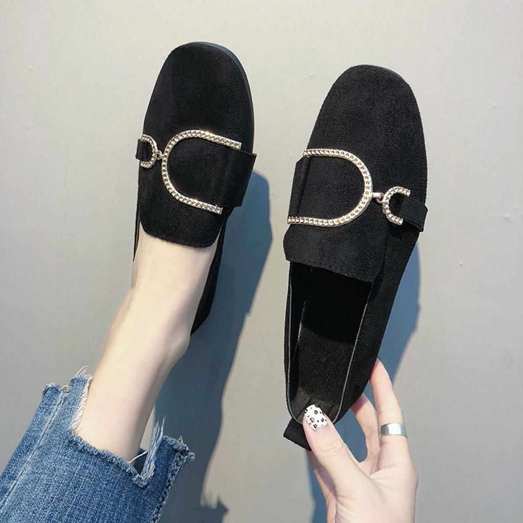 Designer Kleid Schuhe Sagace Mode Retro Frauen Casual Bogen Pumps Quadratischen Kopf Plattform Niedrigen absätzen Erbsen Wohnungen Neue Weiche Ja18