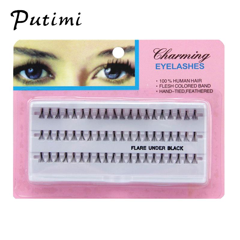 Nautral Long Individual Eyelashes Cluster 3d Lashes Grafting Fake False Eyelashes Extension Tools Makeup