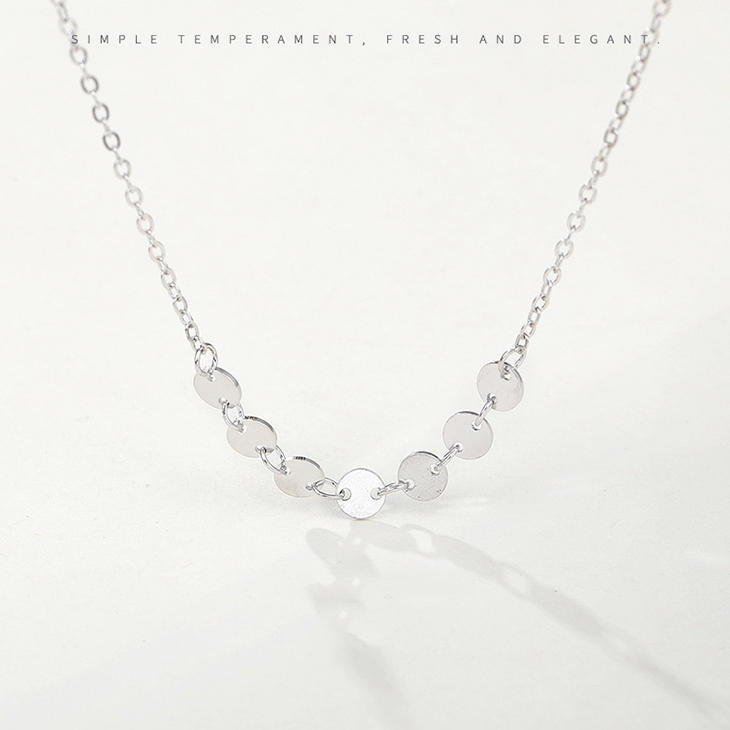 """5PCS Jewelry Findings /""""Water Wave/"""" 925 Silver Plated Necklace Chains For Pendant"""