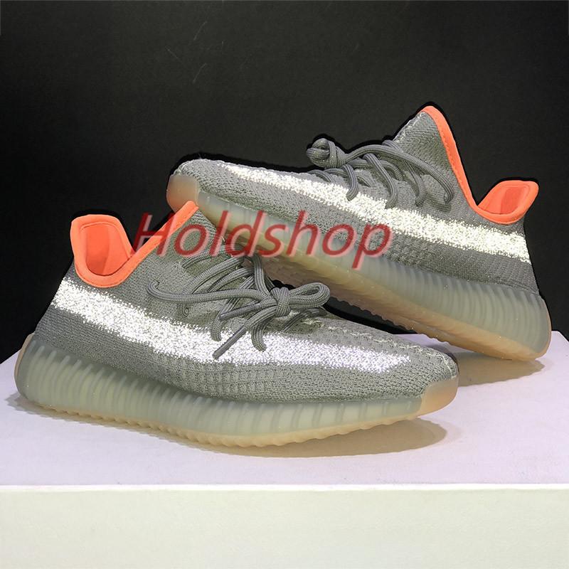 Earth Designer Kanye West Tail Light Desert Marsh Flax Yeshaya Men Running Shoes Yecheil Landmark Black Static Reflective Women Sneakers