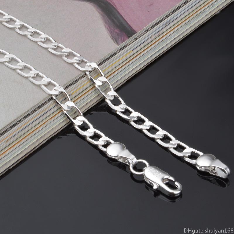 New Fashion Pendentif Cristal Déclaration ethnique chaîne ancienne argent colliers 01