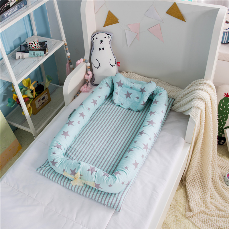Baaobaab Portable Crib Infant Toddler Cradle Cot Newborn Nursery Travel Folding Nest Bed For Baby Care C19041901