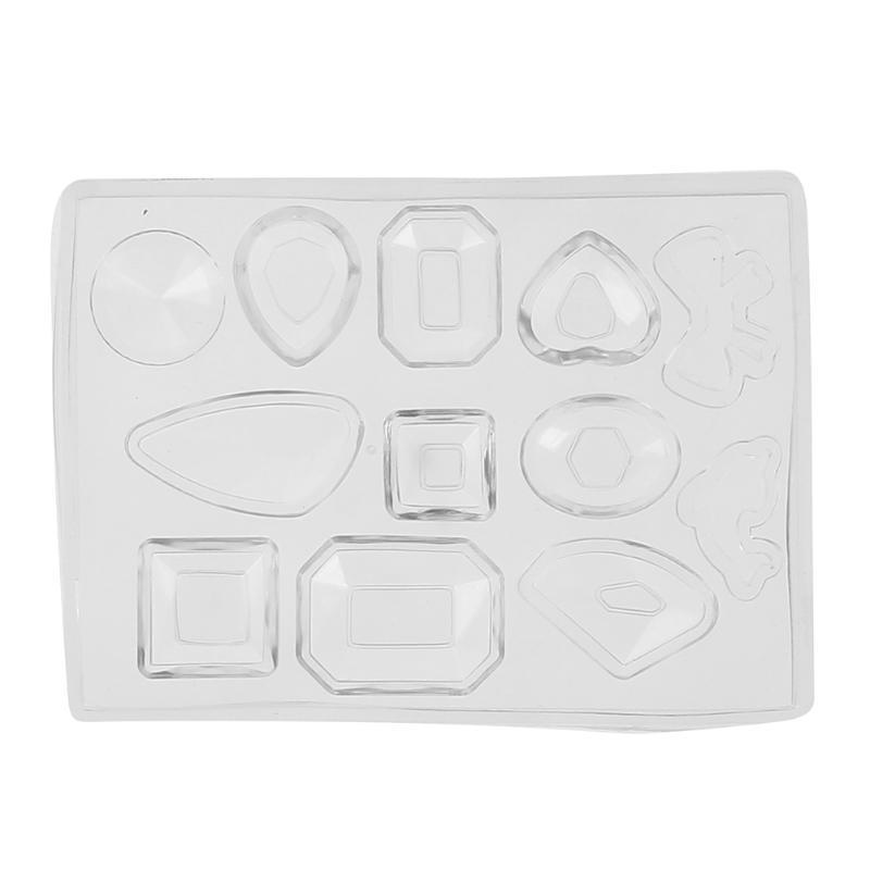 Heart Irregular Shape Silicone Jewelry Molds Fondant Cake Biscuit Chocolate Making Mould Sugar Craft Tools DIY Baking Accessories
