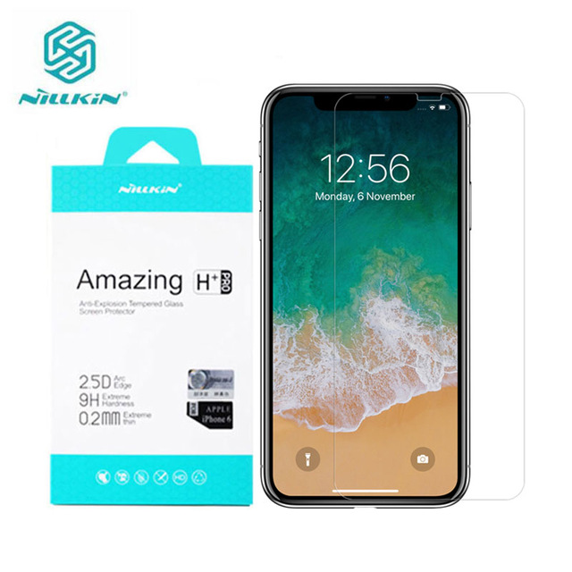 For iPhone XS Max Original Nillkin Tempered Glass Amazing H+PRO Screen Protector For iPhone XS Protector Film