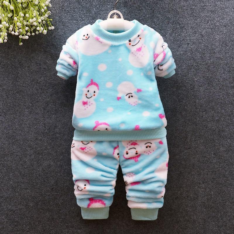 Good Quality Winter Baby Girls Clothing Sets Velvet Warm Clothes Sets For Toodler Girls Cartoon Infant Girls Coat Pants Uk 2019 From Yosicil07 Uk