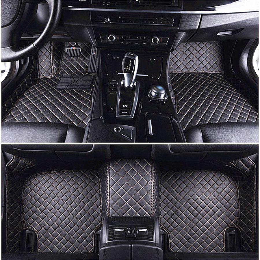 Black Customized Special car Trunk mat Leather Cargo mat Waterproof Cargo Liners for BMW X1 X3 X4 X5 F20 F34 F13 F30 F10 F15 F16 F15 X5