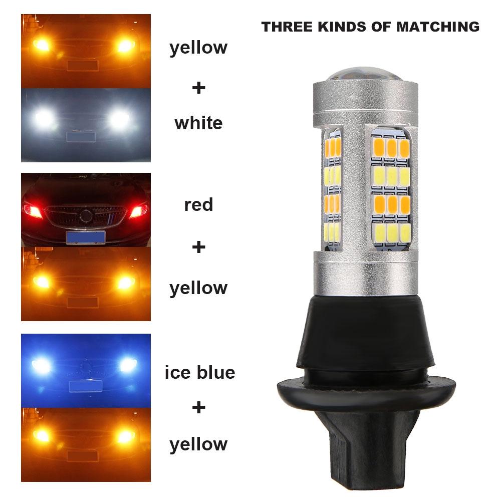luz de Advertencia de Seguridad 2 Unidades indicador de se/ñal de Giro 2 Modos Dwawoo Luces de Giro para Bicicleta