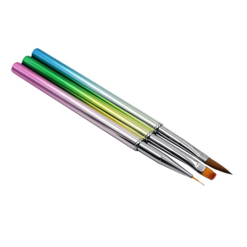 10pcs//set pintados a mano delgada línea lápiz pluma dibujo arte plumas pincel