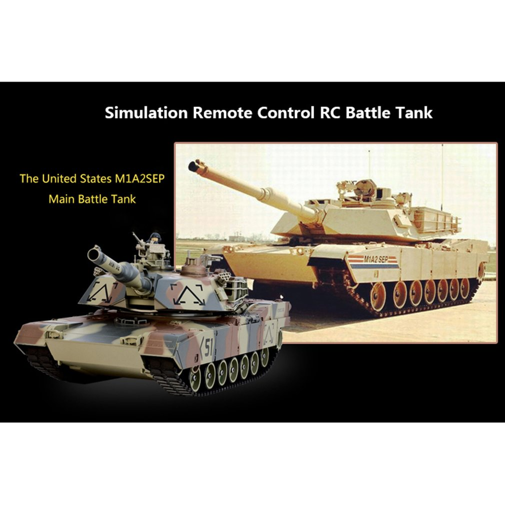 Wholesale 1/26 Scale Shooting BB Bullets Tank Set RC Military Car Remote  Control Model Boy Toy Gift Vehicle Rc Petrol Cars Radio Control Cars For