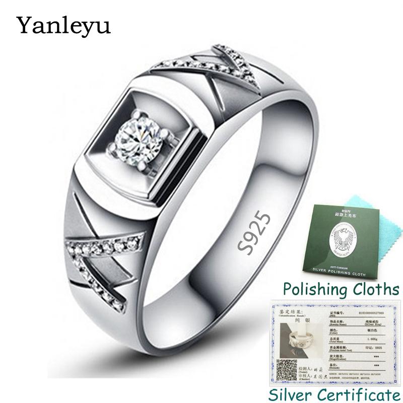 Anillo de acero inoxidable banda elegante anillo tamaño 53 plata esmaltes negro blanco tr17