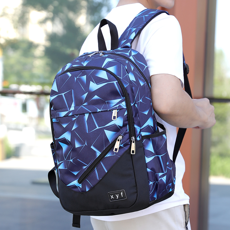 Unisex PU Leather Backpack Christmas Home Xmas Green Print Womens Casual Daypack Mens Travel Sports Bag Boys College Bookbag