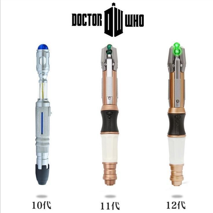 DOCTOR WHO DESTORNILLADOR SONICO LUCES Y SONIDO SONIC SCREWDRIVER 10TH cosplay