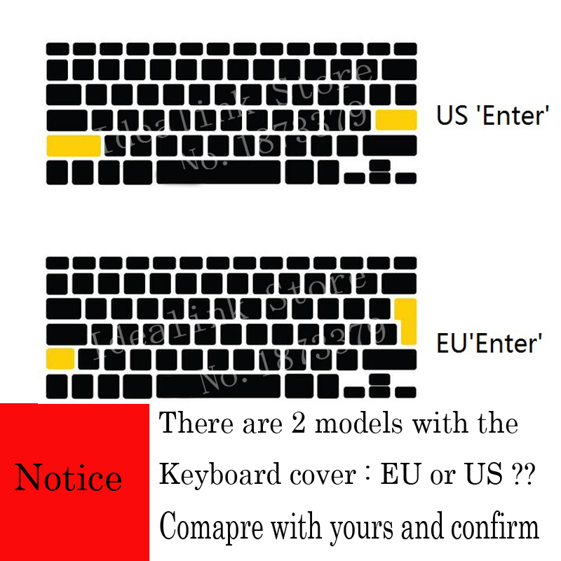 Eu Us Soft Silicon For Macbook Pro 13 15 Cd Rom Keyboard Cover Russian Cover For Macbook Pro 13 15 A1278 A1286 Russia Keyboard T190619